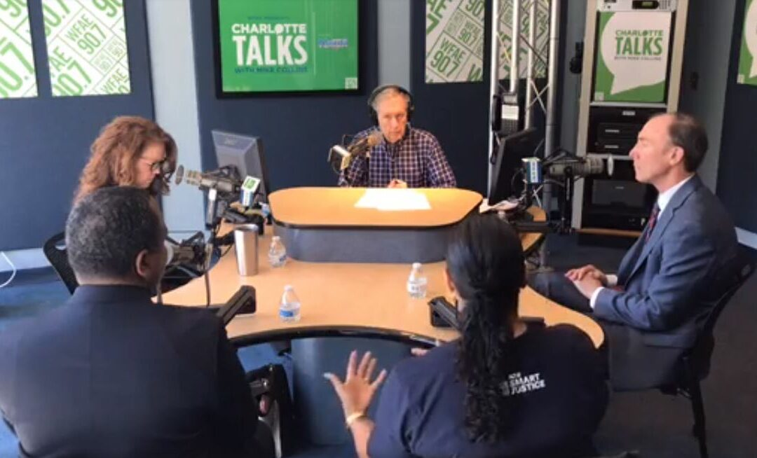 CJPC Board Member Kristie Puckett-Williams Discusses Promising New Alternative to Cash Bail on Charlotte Radio Show