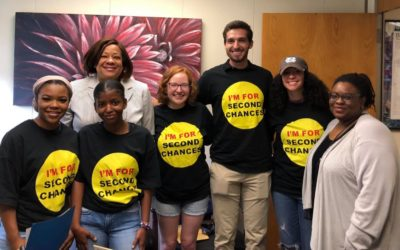 CJPC Staff and Interns Lobby for Second Chances