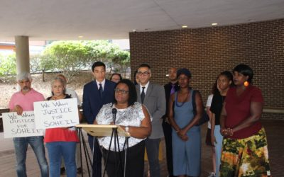 CJPC Executive Director Joins Local Activists to Demand Accountability from Raleigh Police
